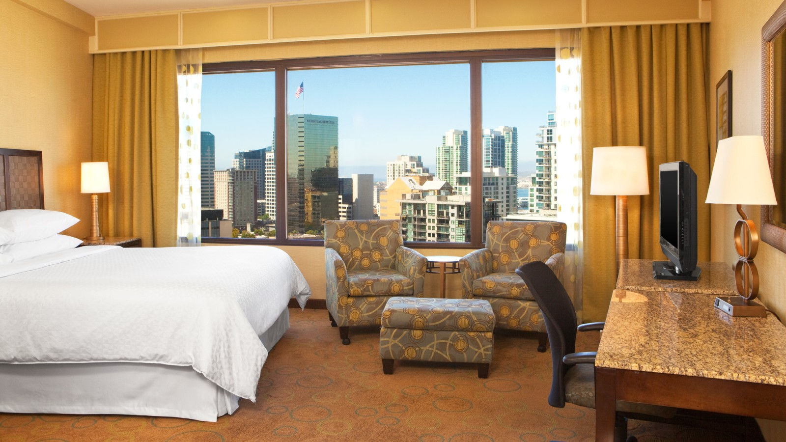King Room - Bay View | Four Points San Diego Downtown